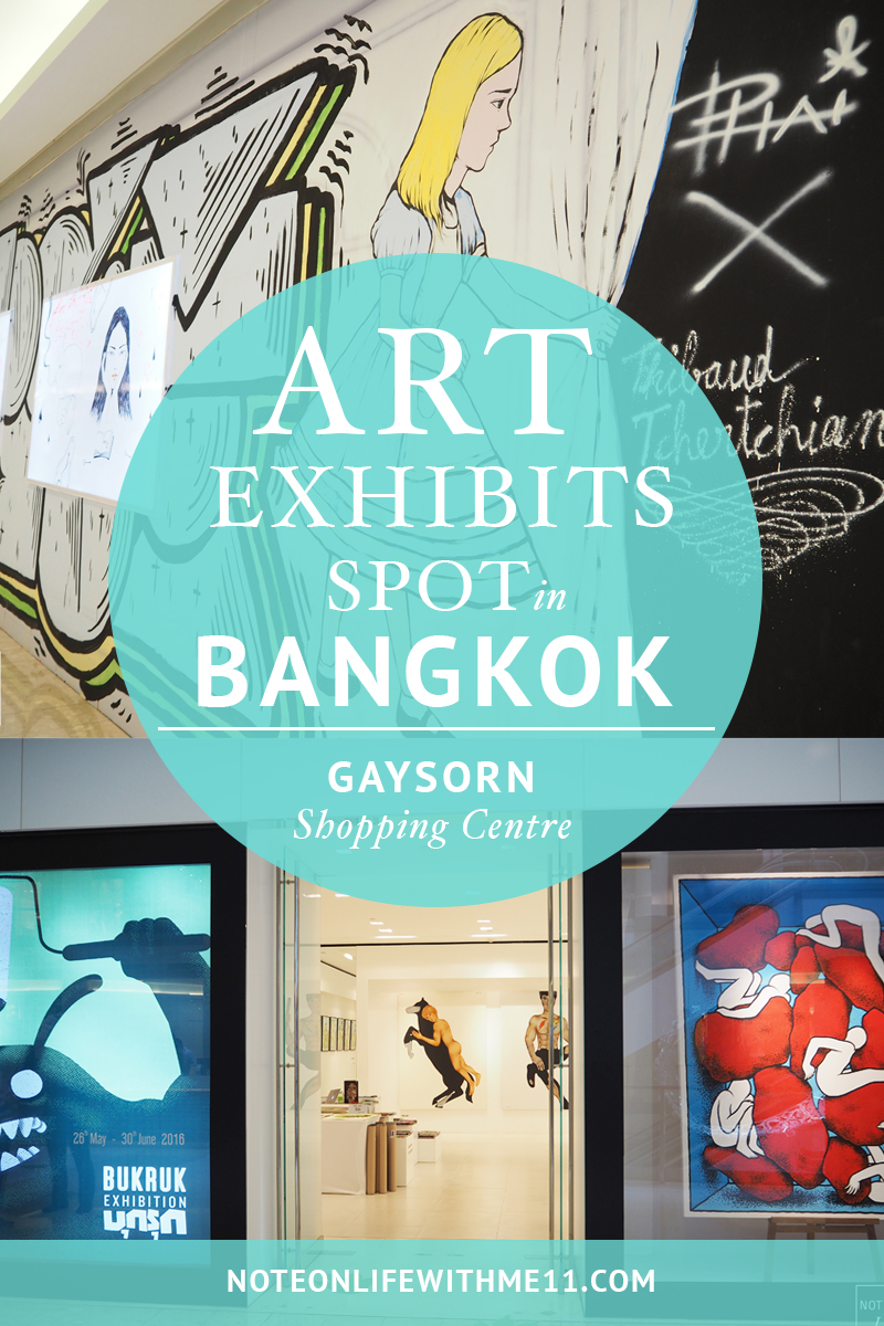 Art Exhibits Spot in Bangkok Thailand - Burkuk Art Festival