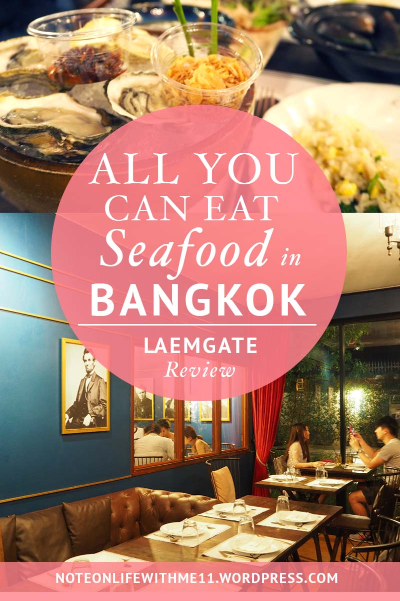 All you can eat seafood in Bangkok Laemgate