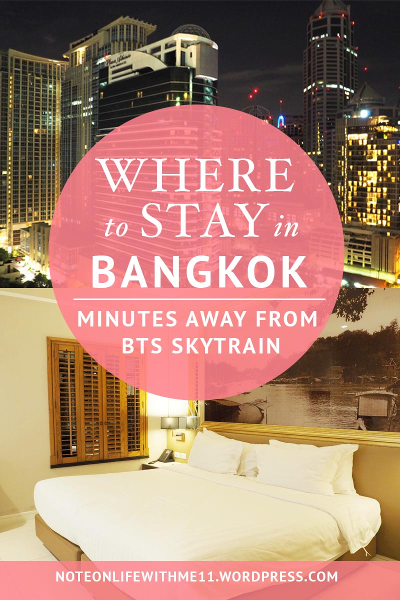WHERE TO STAY BANGKOK GRANDE CENTRE POINT HOTEL PLOENCHIT