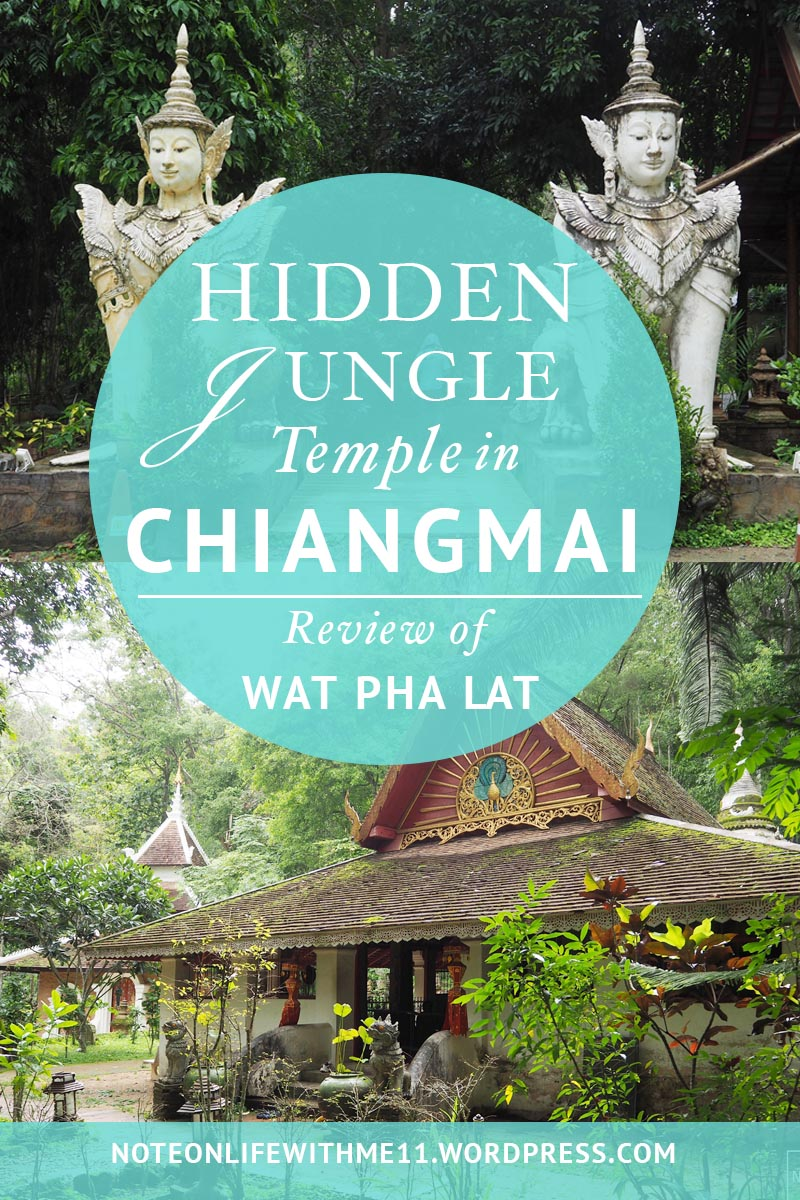 Hidden Jungle temple Chiangmai Wat Pha Lat
