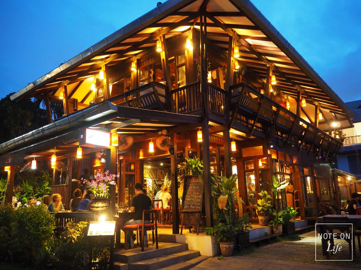 UNIQUE Restaurant in Chiangmai – Teak Wood Restaurant -DASH!