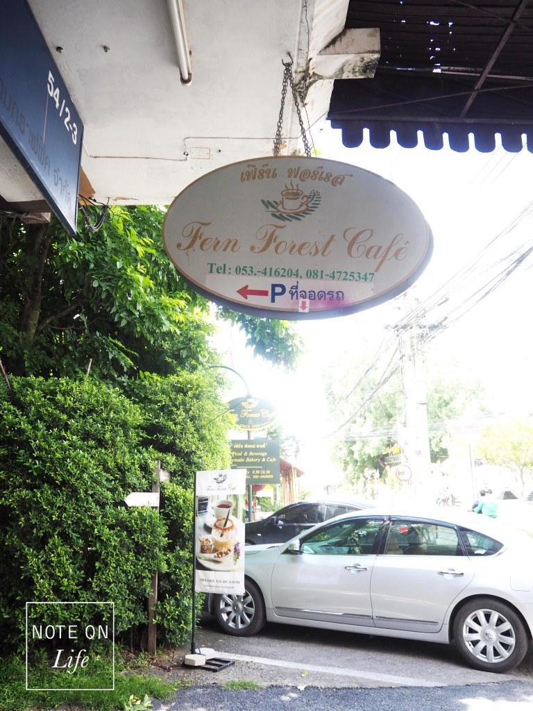 Fern Forest Cafe Chingmai Thailand