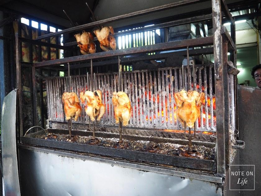 SP Chicken Roasted Chicken Northern Chiang Mai Thailand