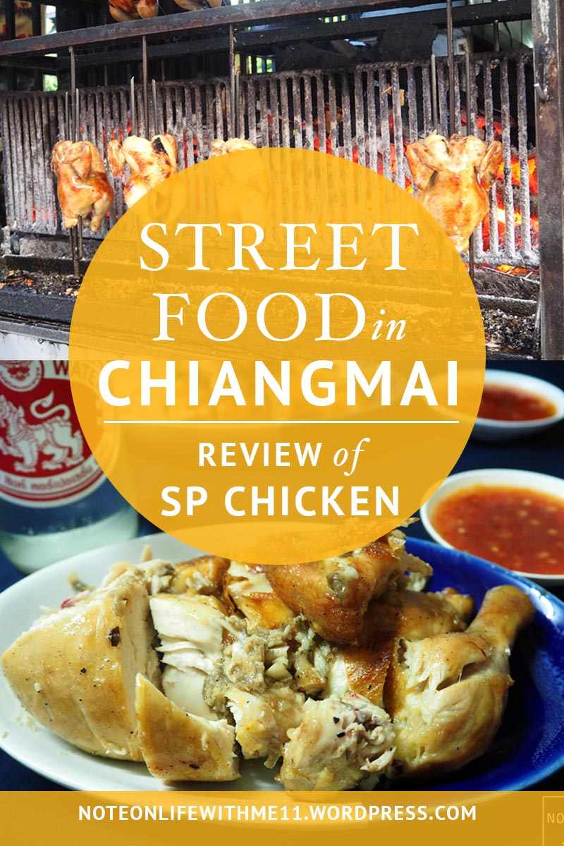 STREET FOOD in Chiangmai SP Chicken