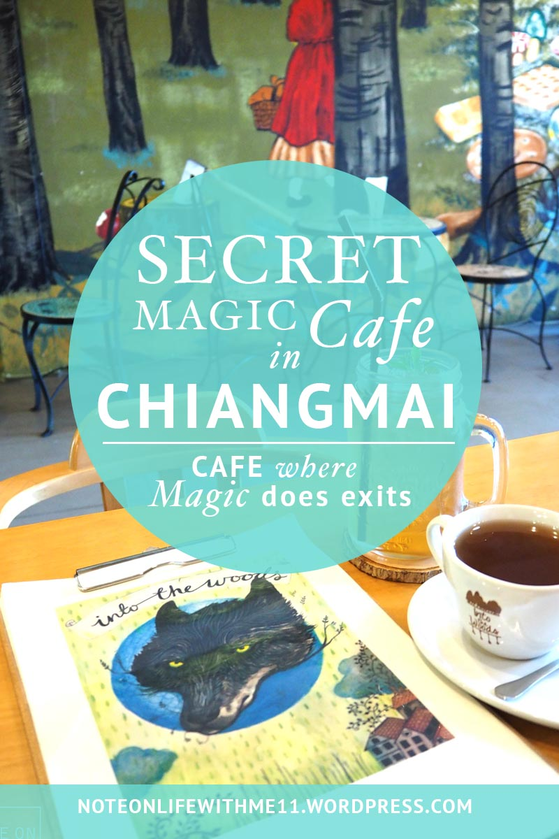Secret Magic Cafe in Chiangmai Thailand