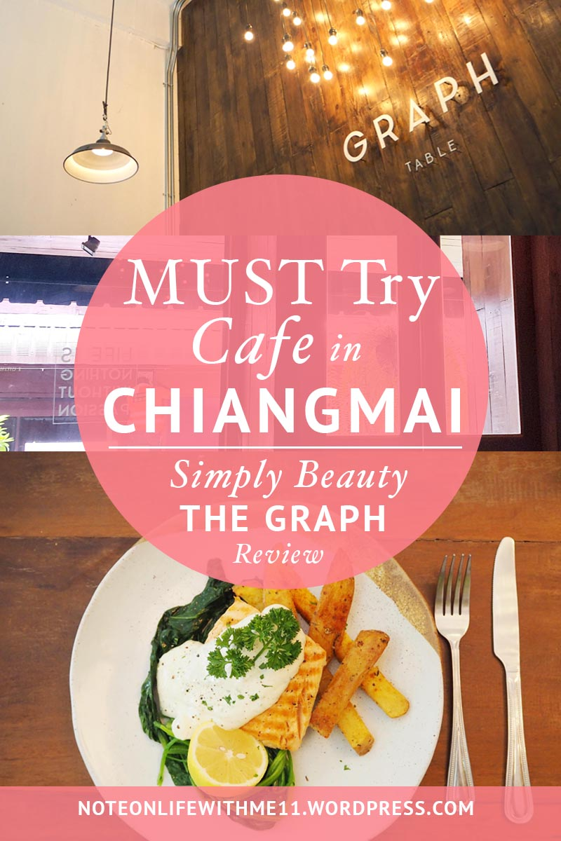 Graph Table Must try Cafe in Chiangmai