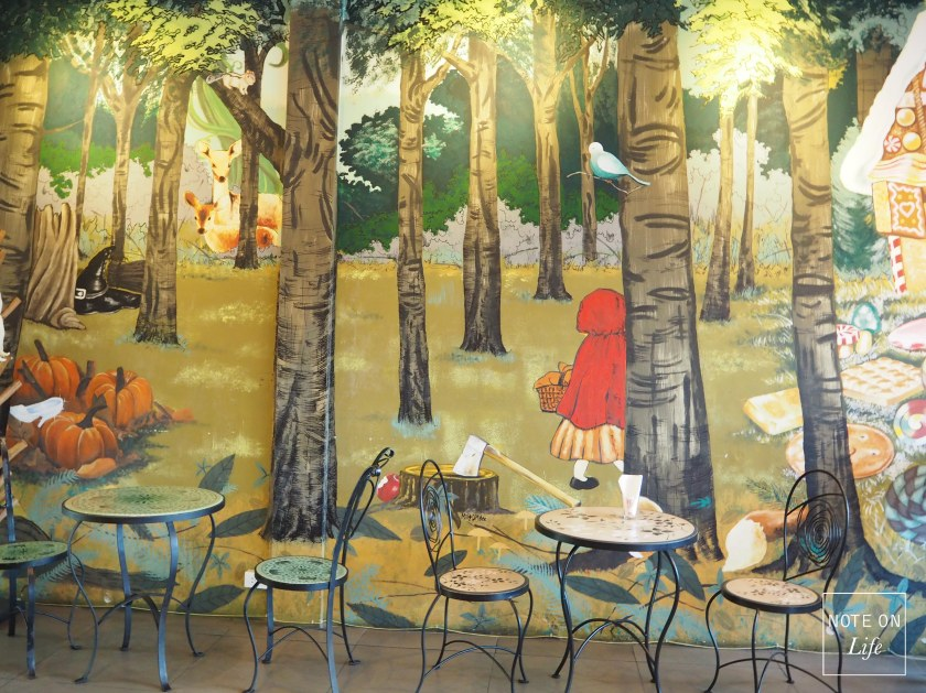 Secret Forest Cafe in Chiangmai Northern Thailand The Woods