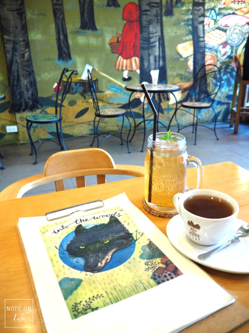 Chiangmai Into the Woods Cafe Northern Thailand