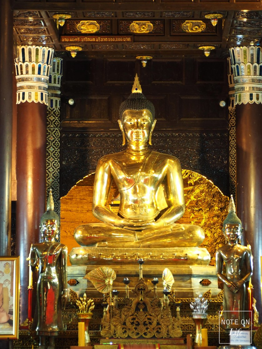 Wat Lok Molee Temple Northern Thailand Travel attraction