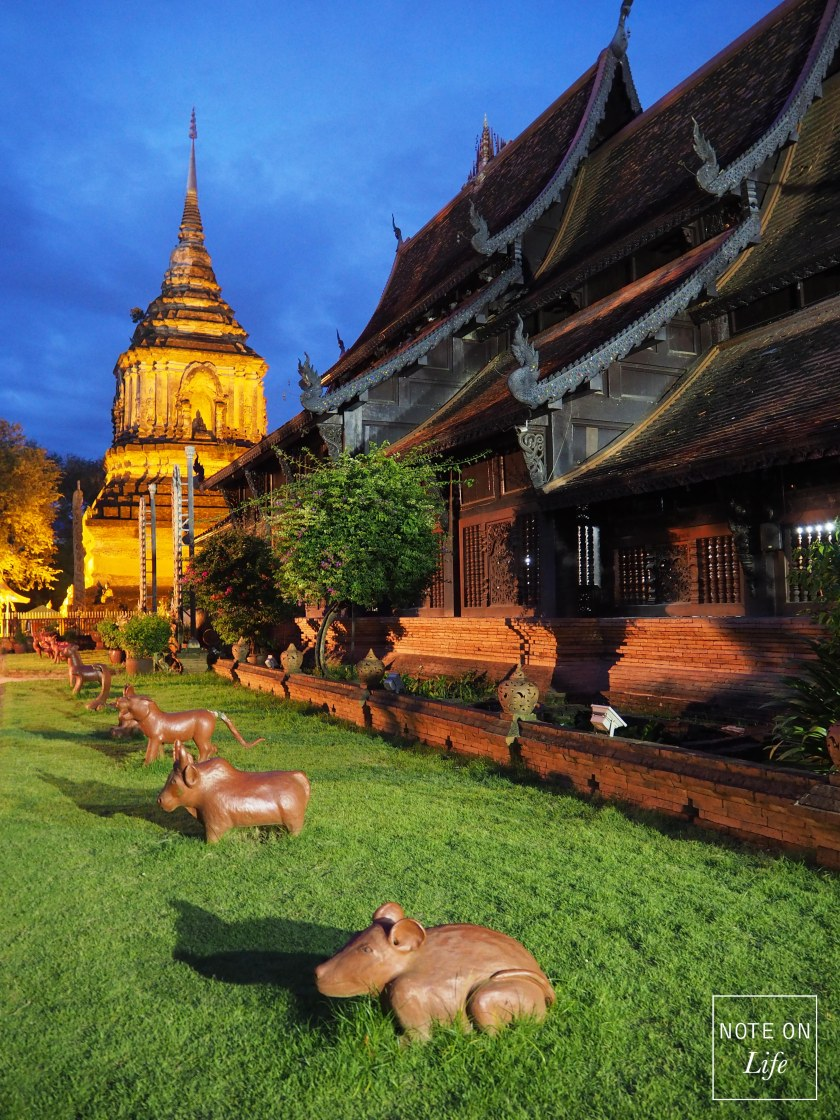 Wat Lok Molee Temple Northern Thailand Travel attractions