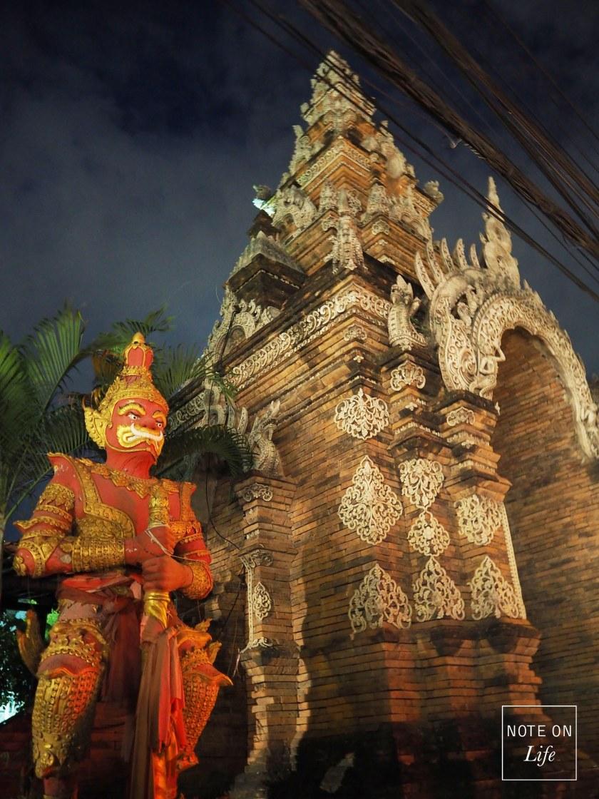 Wat Lok Molee  Temple Northern Thailand