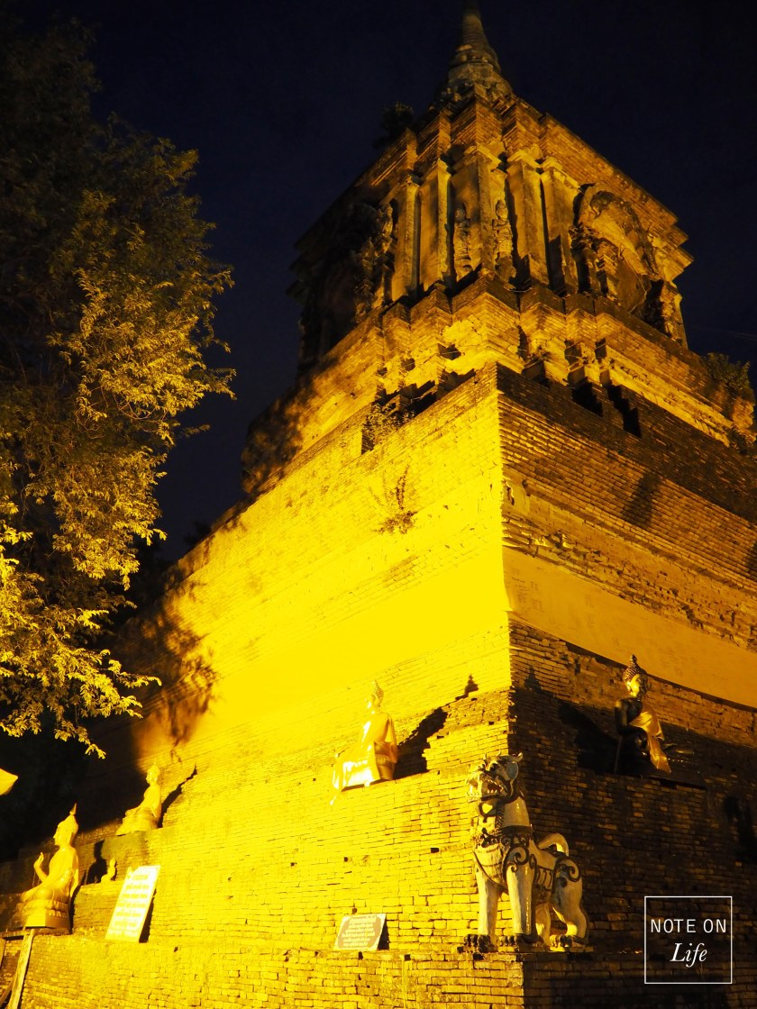WatLokMolee Temple Chiangmai Thailand