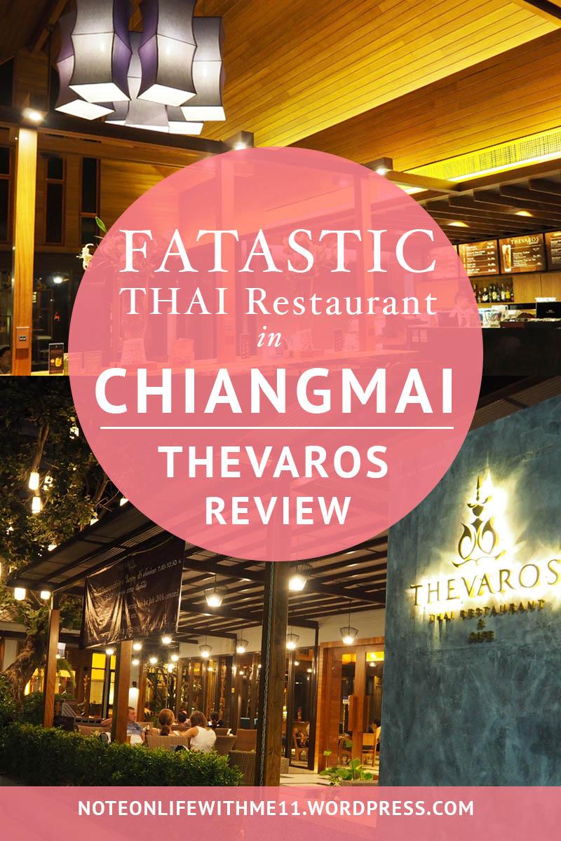 Thevaros Thai Restaurant Chiangmai