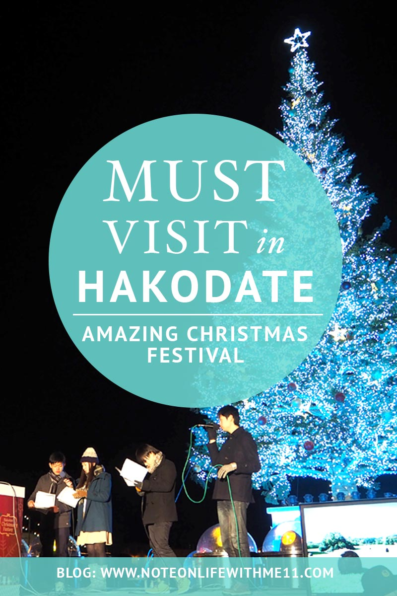 Amazing Christmas Festival must visit in Hakodate Japan Travel