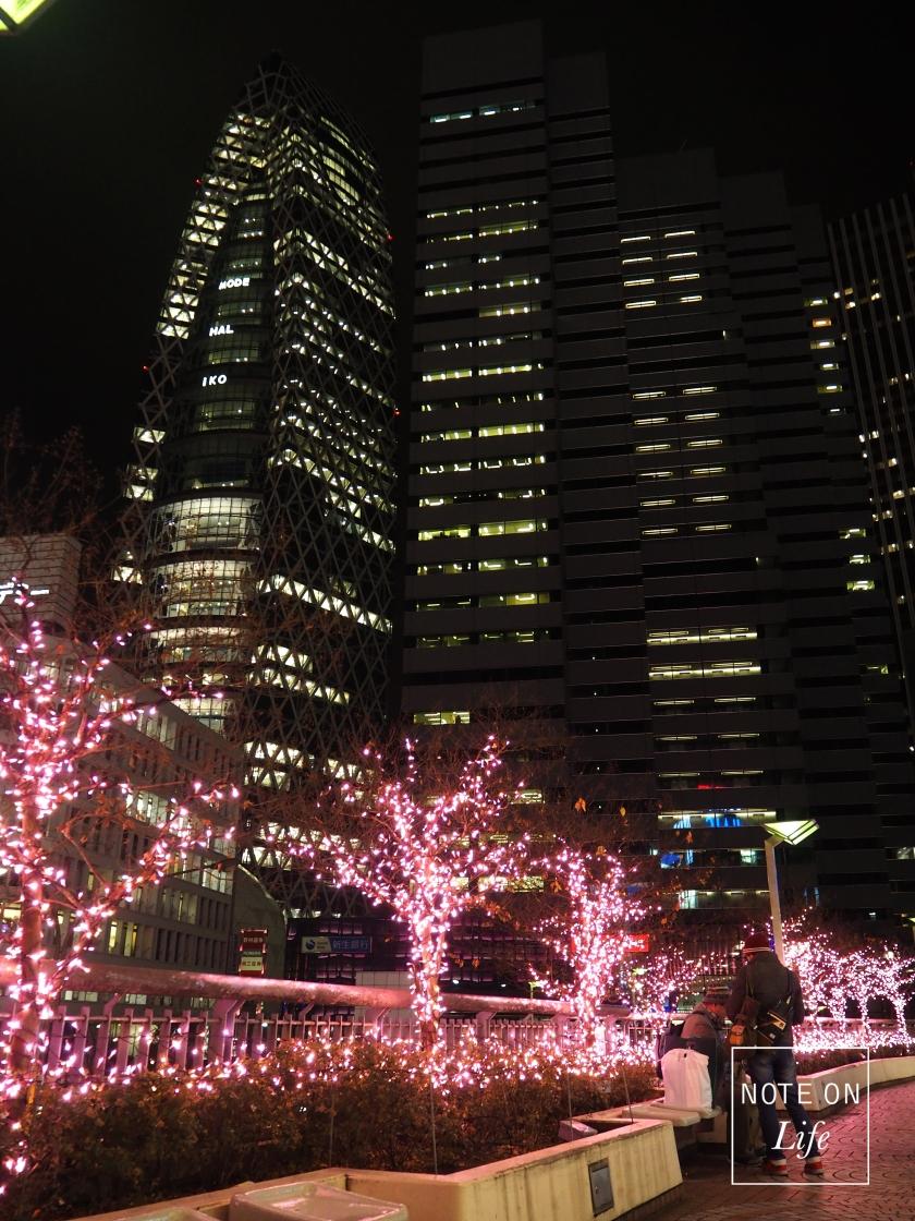 Shinjuku Terrace City Lumine 1 Christmas Tokyo
