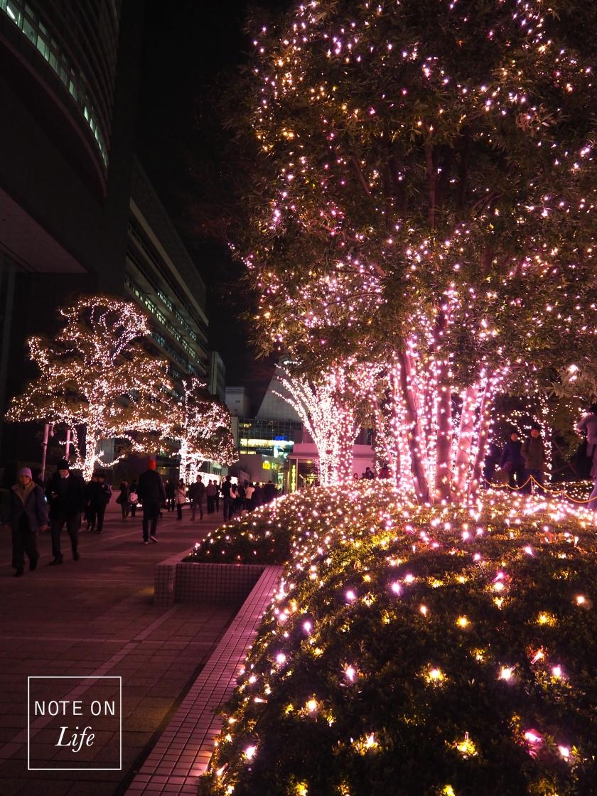 Terrace City Illumination Shinjuku Tokyo