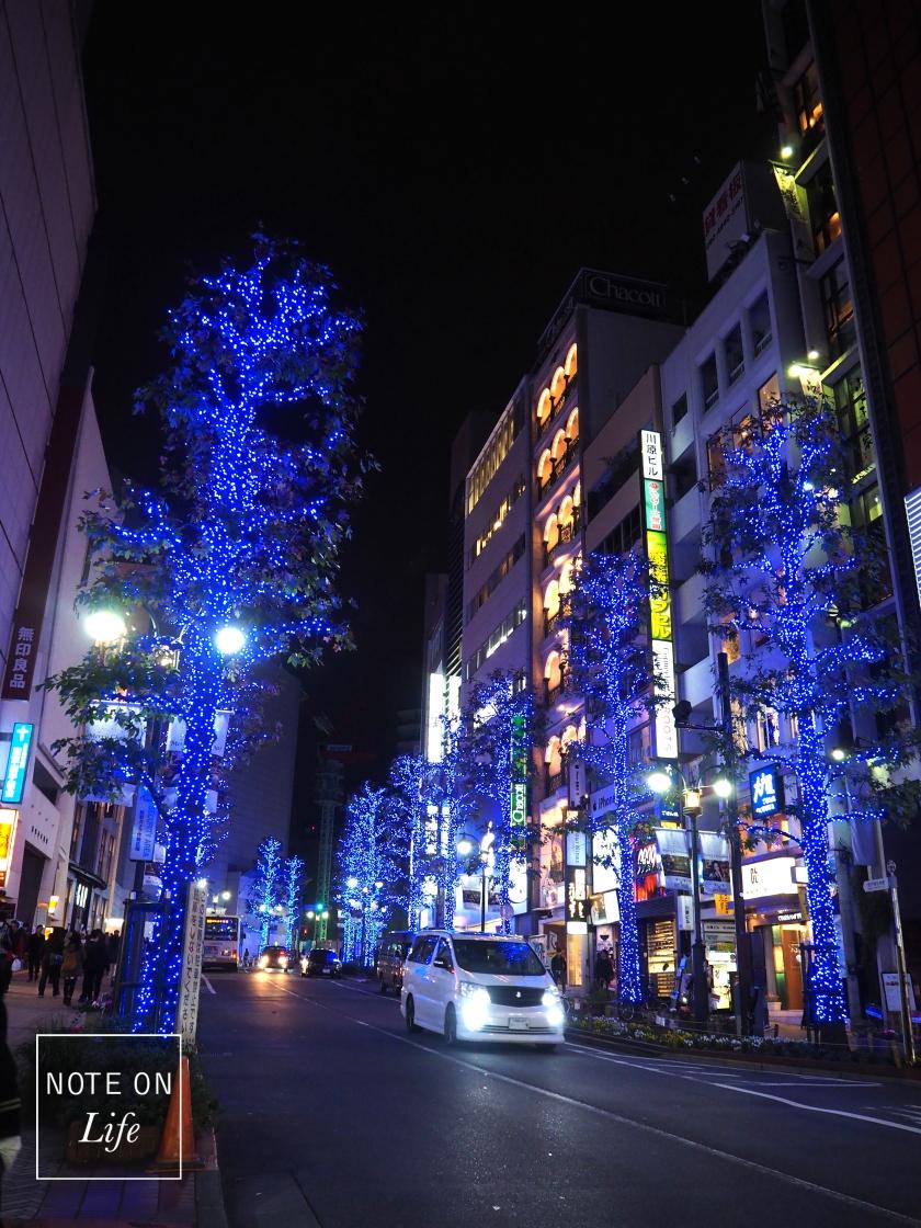 Shibuya Christmas Tokyo 青の洞窟 Travel