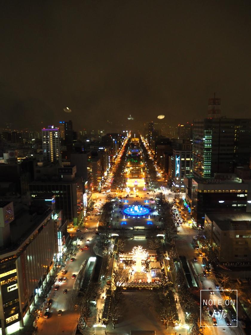 Munich Christmas festival in Sapporo Hokkaido Japan