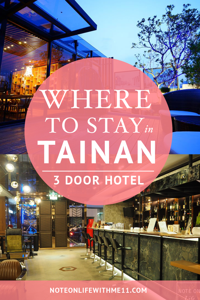 Where to stay in Tainan 3 Door Hotel 三道門建築文創旅館