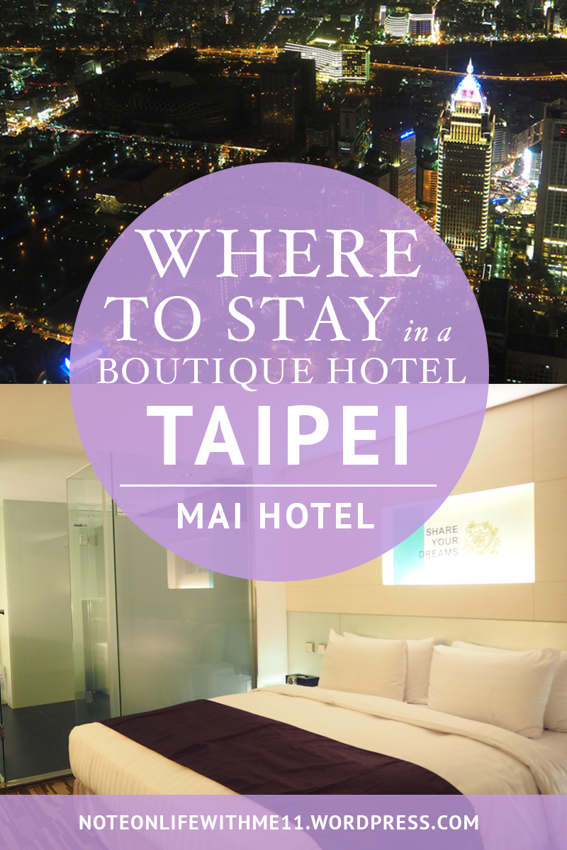 Where to stay in Boutique Hotel Taipei Mai Hotel