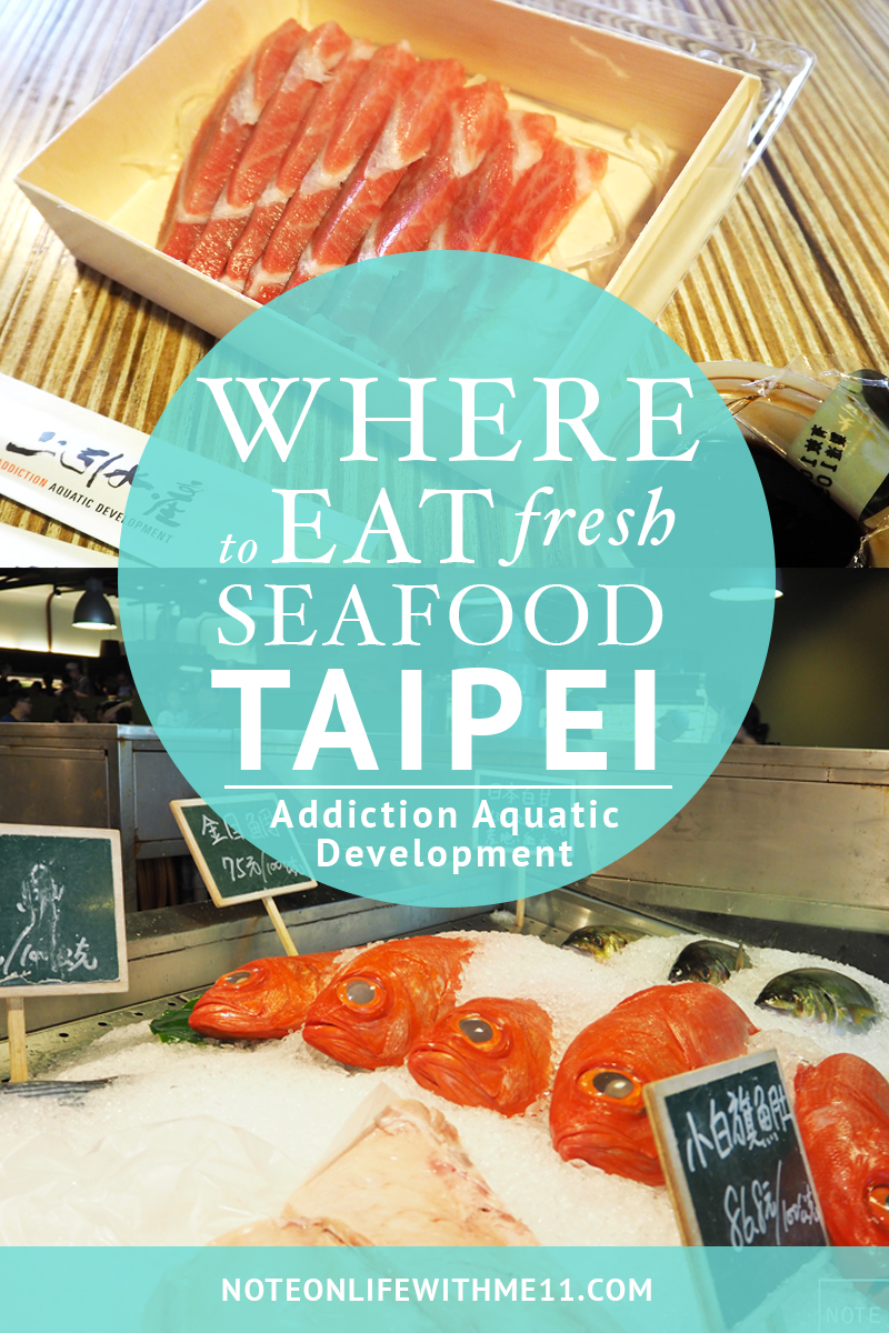Addiction to Aquatic Development 上引水產 Taipei Taiwan Travel