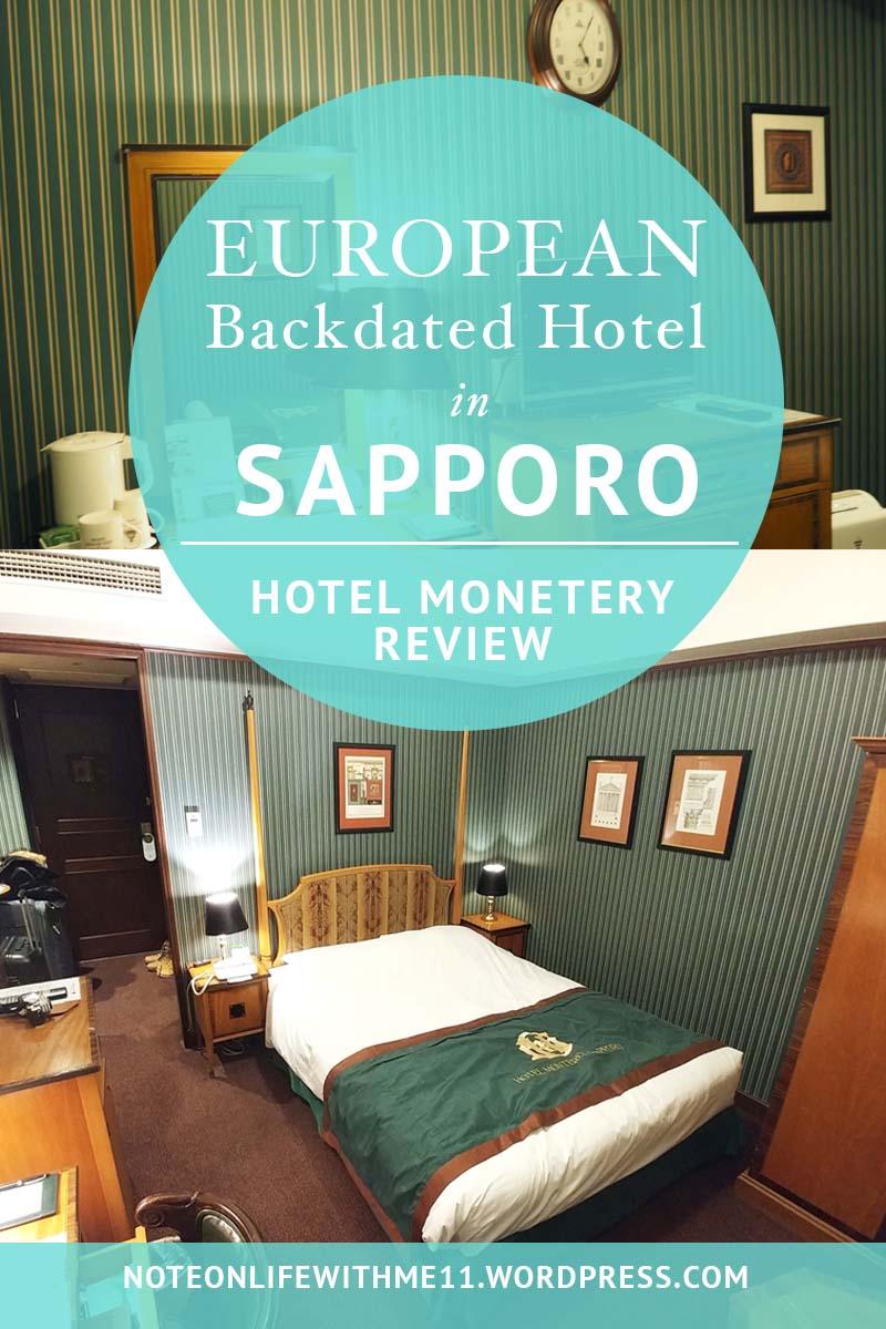 Hotel Monetery Sapporo Japan