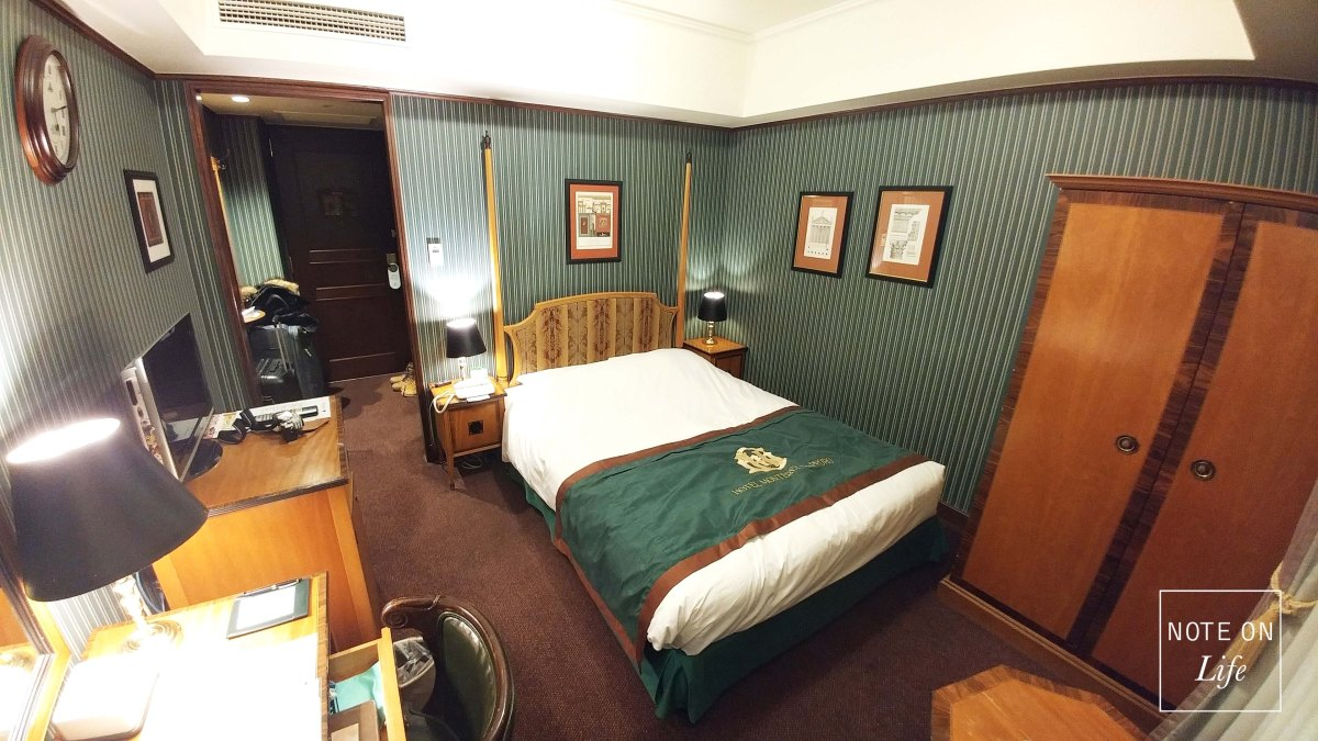 European backdated hotel in Sapporo -Hotel Monterey Review
