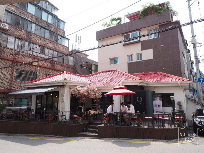 Lovin'Her Flower Café러빈허 Florte Flower Cafe Seoul
