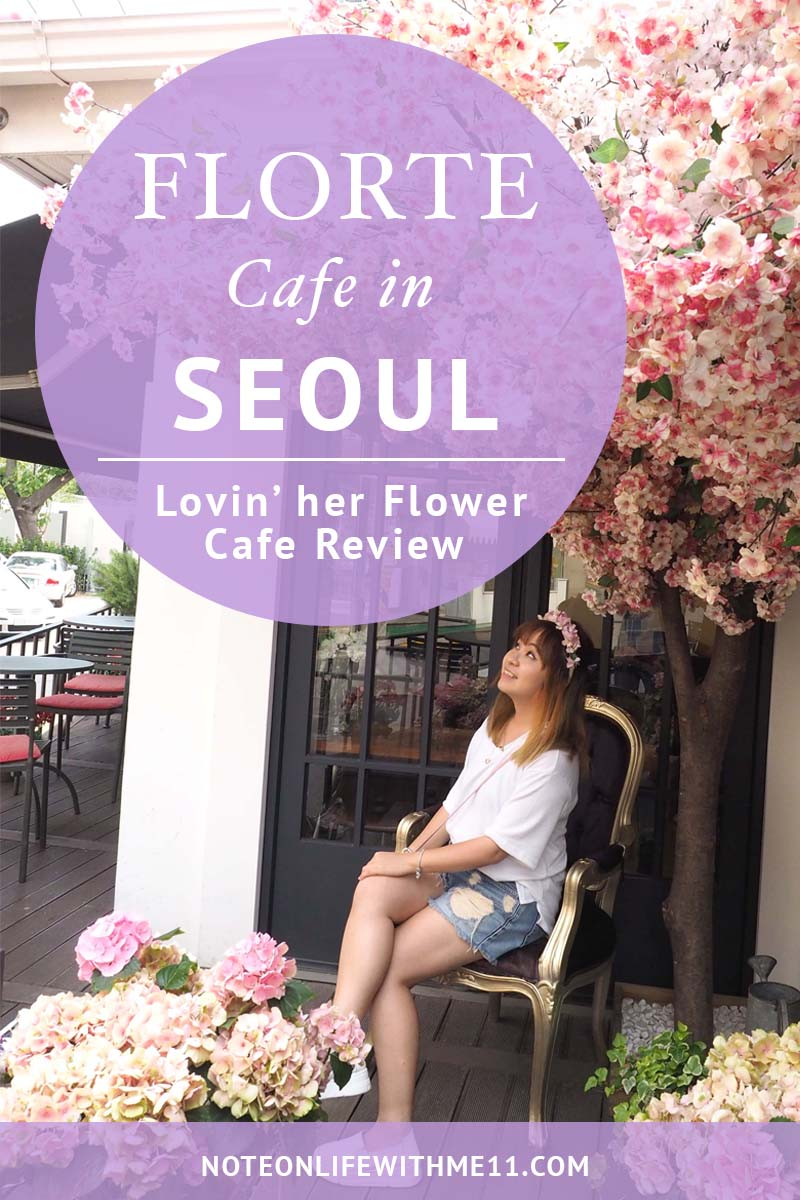 SEOUL_Lovin her flower cafe Travel
