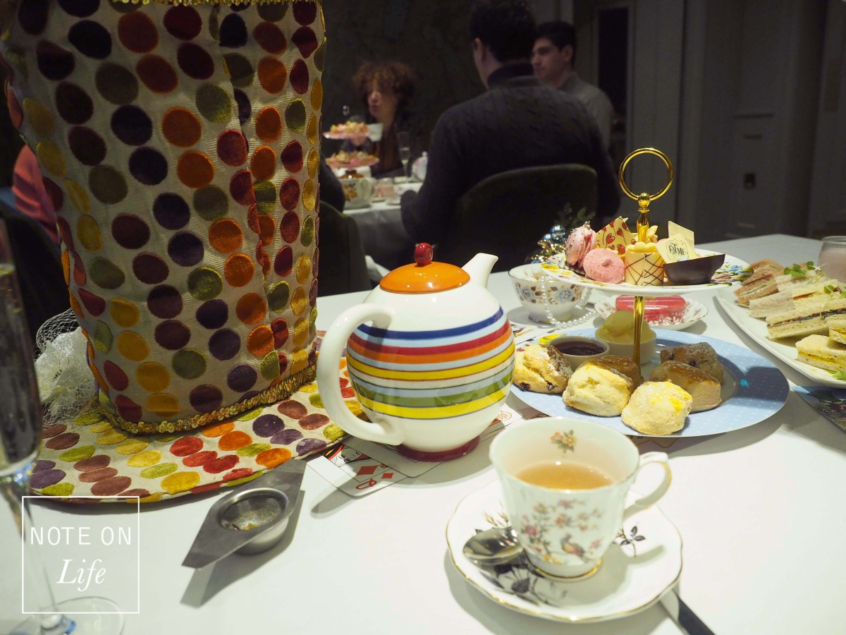 Afternoon Tea in Wonderland – London
