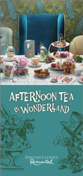 Afternoon Tea Alice in wonderland London_17