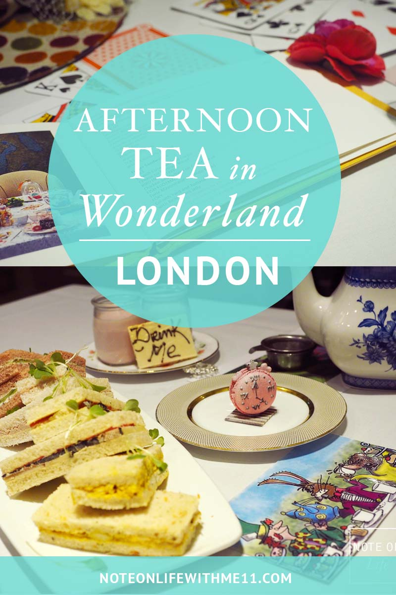 Alice in wonderland afternoon Tea London
