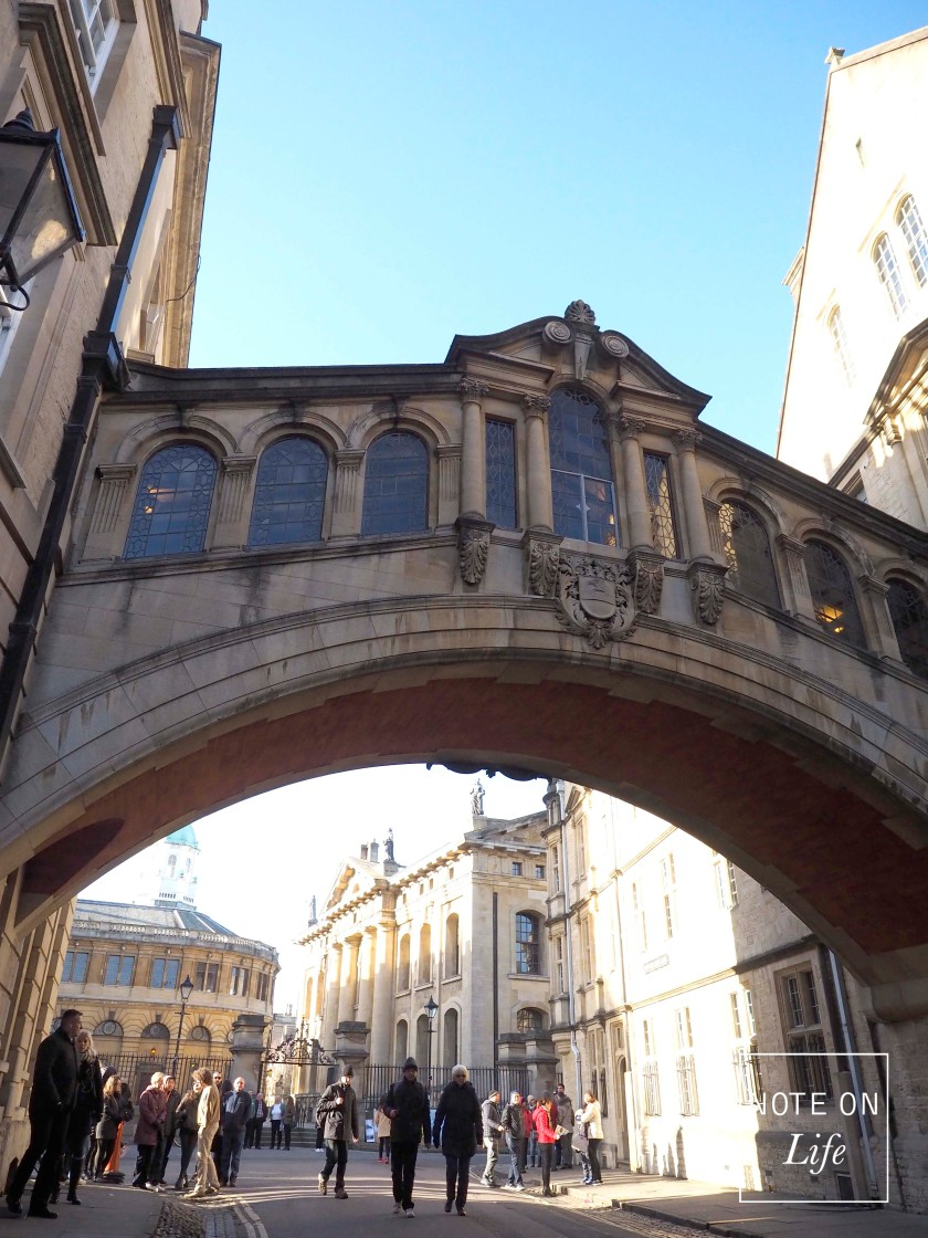 Bridge of Sighs London Oxford Landmark