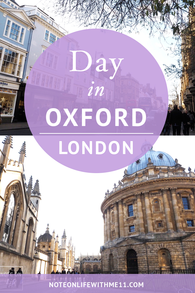 Oxford London UK Travel Tour