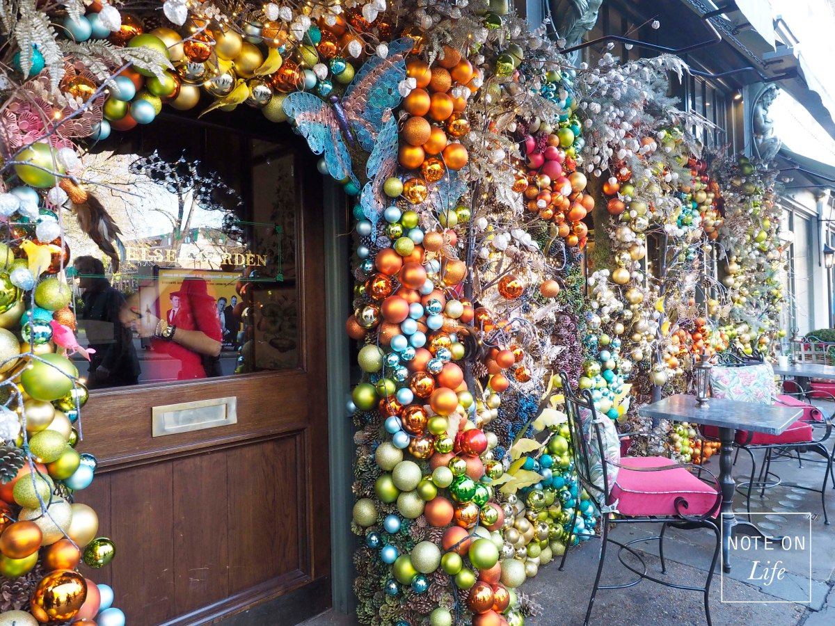 Christmas - The Ivy Chelsea Garden London
