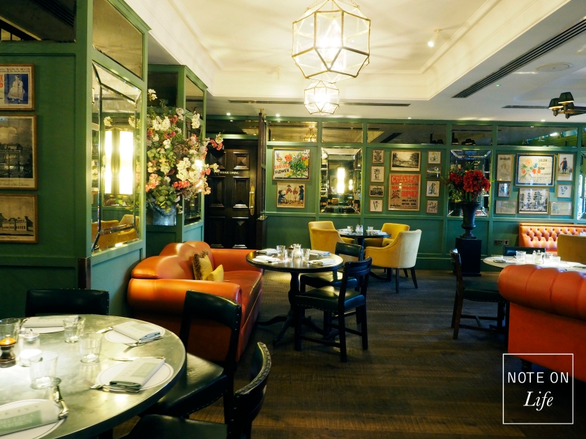London English restaurant The Ivy Chelsea Travel