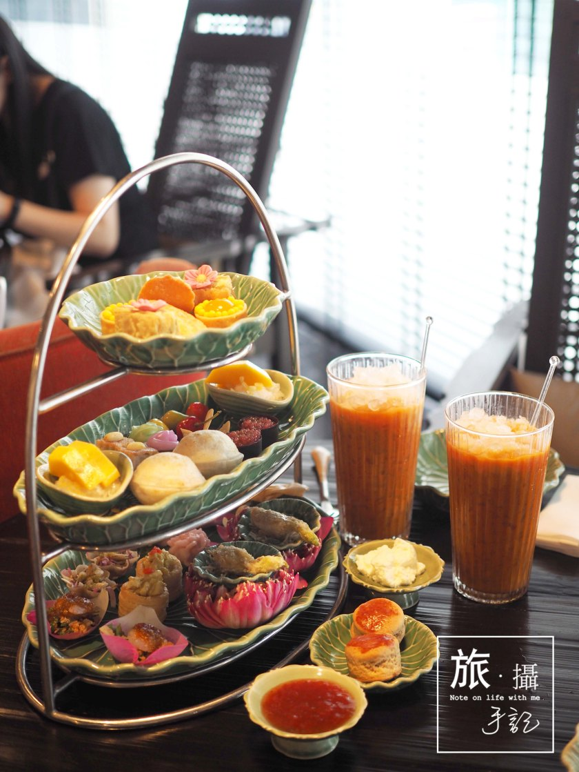 Afternoon Tea in Bangkok - Grand Hyatt Erawan Tea Room