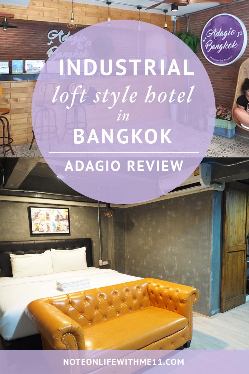 Adagio Hotel review Bangkok Thailand