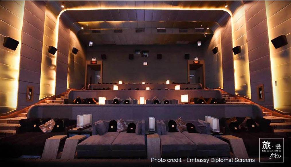 WORLD LUXURY movie experience in AIS Diplomat Screen Review – BANGKOK