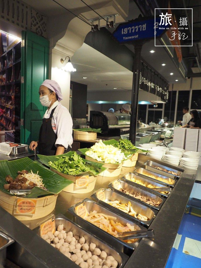 Baiyoke Sky hotel buffet Bangkok Thailand