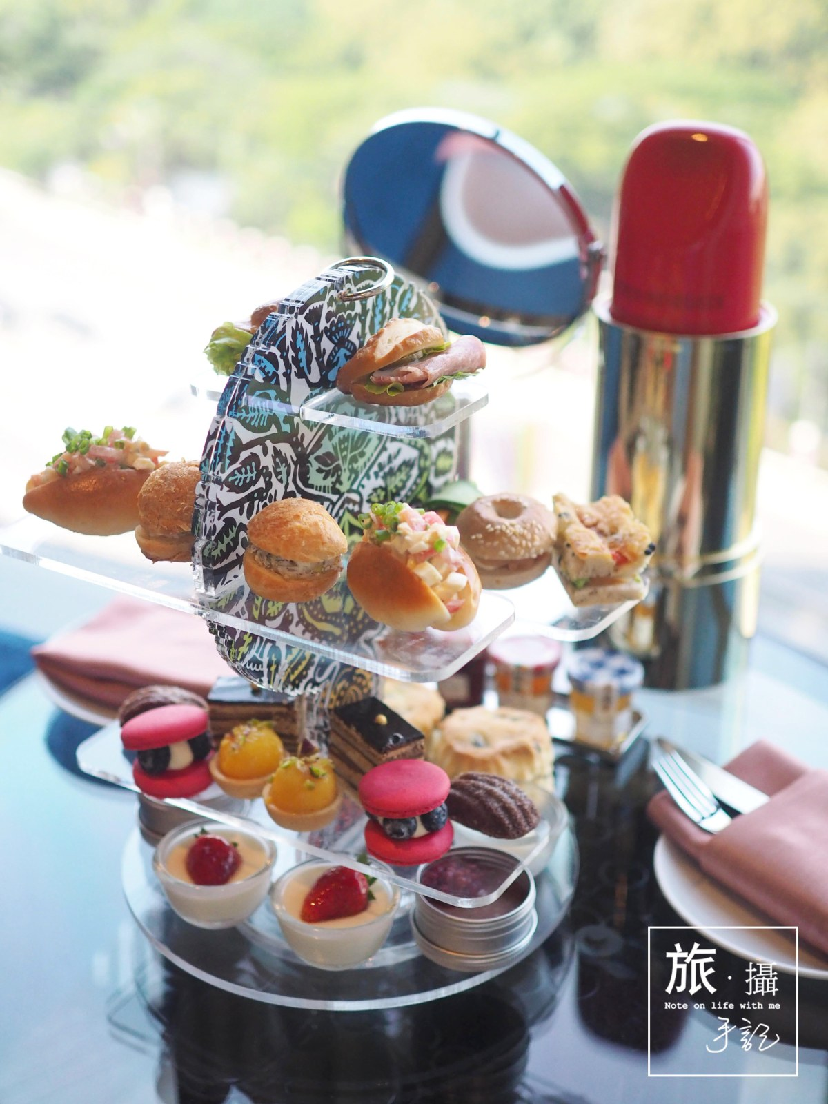 Where to  have Panoramic Park view afternoon tea in BANGKOK? Yes